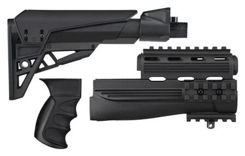 ATI Ravenwood RW-AKP Ak-47 Elite Mount Adjustable Stock Package Black