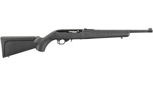 """Ruger 10/22 Compact Rifle, .22 LR, 16.125"""", Black Synthetic Stock, Matte Black"""