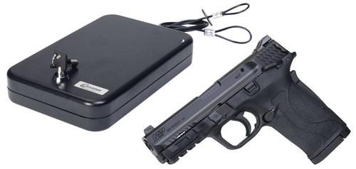 Smith & Wesson M&P Shield, .380 ACP, EZ Lockdown Kit, 8rd