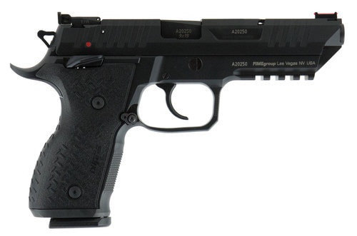 "Arex Rex Alpha DA/SA 9mm, 5"" Barrel, Black, Adjustable Sights, 17rd"