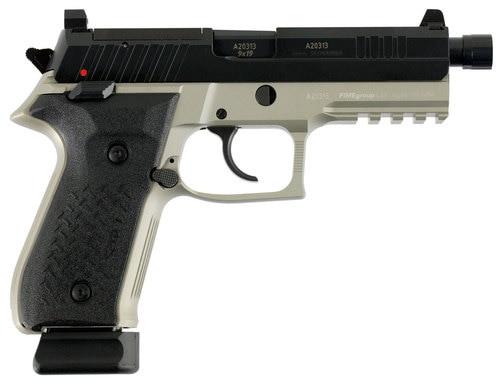 Arex Rex Zero 1 Tactical 9mm Gray, 20Rd