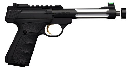 "Browning Buck Mark Plus Lite UFX Single 22 LR, 6"" Barrel, Black, 9rd"