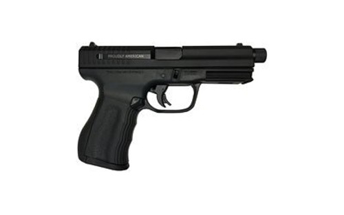 "FMK 9C1 Elite Plus 9mm, 4.5"" Barrel, TB, 3-Dot Black, 14rd"