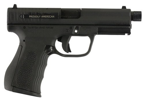 "FMK 9C1 G2 Plus FAT 9mm, 4.5"" Barrel, Threaded Barrel,,  Black r Grip/,  10 rd"