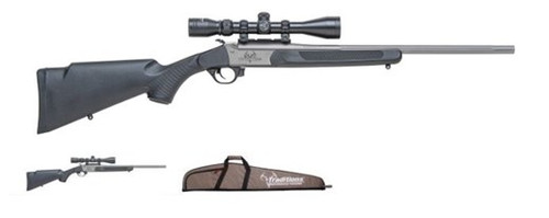 """Traditions Outfitter G2 Package 35 Whelen 22"""" Fluted Barrel 3-9x40 Scope Mounted and Sighted In"""