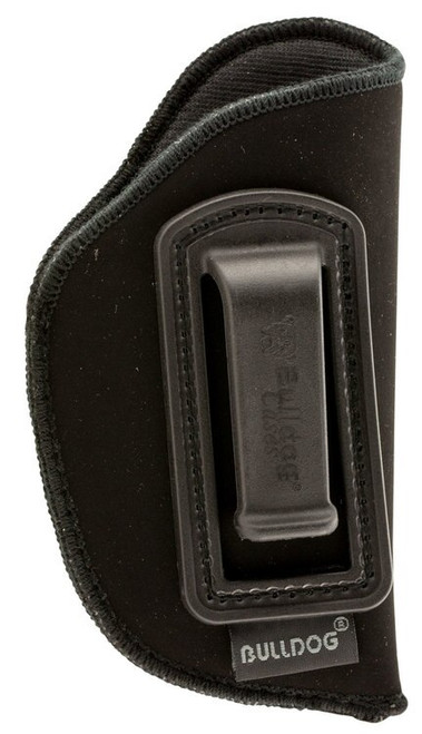 Bulldog Deluxe Inside The Waistband Holster, Mini Semi-Auto Pistol, Ruger LCP, Synthetic Suede