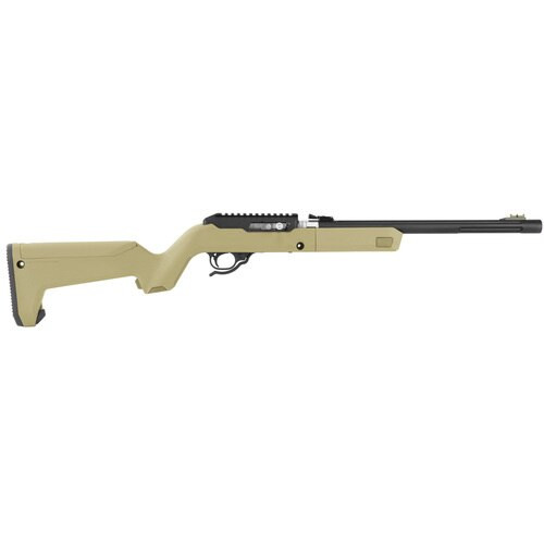"Tactical Solutions X-Ring Takedown Rifle 22LR 16"" Threaded Barrel,  Flat Dark Earth Magpul Backpacker Stock 10rd Mag"