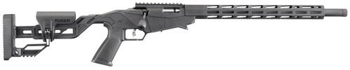 "Ruger Precision Rimfire Bolt 22 LR 18"" Barrel Synthetic Adjustable Stock, 10rd Mag"