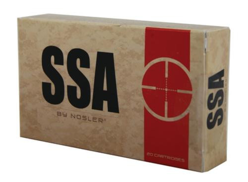 Nosler SSA Ammunition By Nosler 5.56mm 55gr, Ballistic Tip 20rd Box