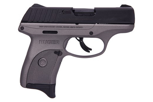 "Ruge EC9S Pistol, 9mm, 3"" Barrel, Tungsten Cerakote Finish, 7rd Mag"