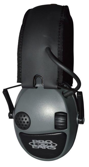 Pro Ears Silver 22 Electronic Earmuff, NRR22, Gray