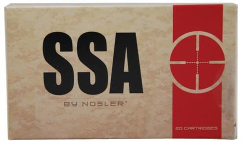 Nosler SSA Ammunition By Nosler .308 Winchester 168 Grain Custom Competition (OTM) HPBT