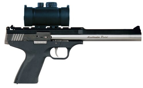 """Excel Accelerator MP-5.7 5.7mmX28mm, 8.5"""" Barrel, Red Dot Optic Included, Black, 9rd"""