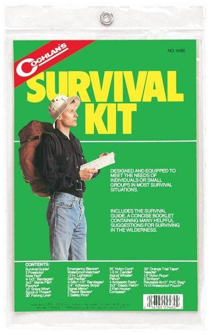 Coghlans Survival Kit, Complete Kit in a Bag