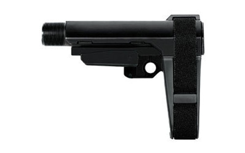 SB Tactical SBA3 AR Pistol Brace, 4 Position, 6 Position Extention, Black