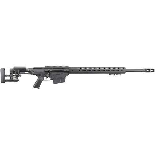 "Ruger Precision Rifle, .338 Lapua Magnum, 26"" 5R Barrel, 5rd Mag, Black"