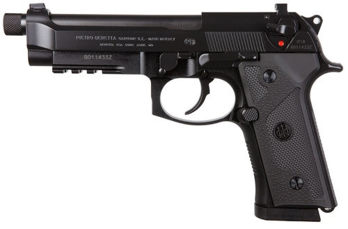 "*D*Beretta M9A3 Type G, Italy, 9mm, 5.2"" Threaded Barrel, 17rd, NS, Black"