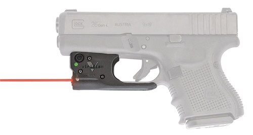 Viridian Reactor R5 Gen2 Laser, Red, Holster Included, Glock 19/23/26/27