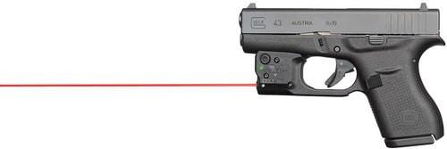 Viridian Weapon Technologies, Reactor 5, Gen 2, Red Laser, For Glock 43, Includes ECR Ambi Inside Waistband Holster