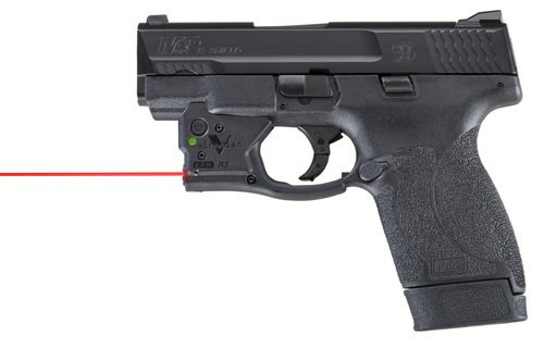 Viridian Weapon Technologies, Reactor 5 Gen 2, Red Laser, Fits S&W M&P Shield 45, Includes ECR Ambi Inside Waistband Holster
