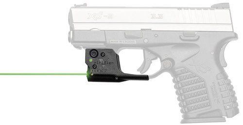 Viridian Reactor R5 Gen2 Laser, Green, Holster Included, Springfield XD-S