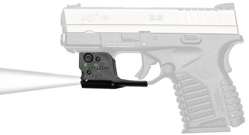 Viridian TL Gen2 Tactical Light, 140 Lumens, Holster Included, Springfield XD-S