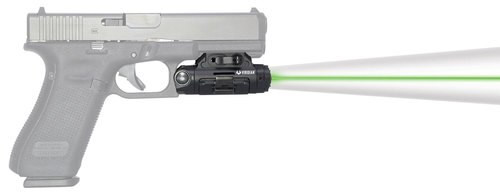 Viridian X5L Gen3 Green Laser With Tactical Light, 500 Lumens, Accessory Rail, Black