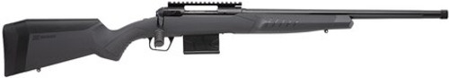 """Savage 110 Tactical, 308WIN/762NATO, 24"""" Threaded Barrel, Black Barrel and Action, Gray Polymer Stock, 10Rd,"""