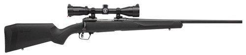 """Savage 10/110 Engage Hunter XP 243 Winchester, With 3X9X40 Scope, 22"""" Barrel,, , Synthetic, Black,  4 rd"""