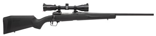 "Savage 10/110 Engage Hunter XP 270 Winchester Short Magnum (WSM), With 3X9X40 Scope, 24"" Barrel,, , Synthetic, Black,  2 rd"