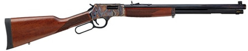 "Henry Repeating Arms, Big Boy Color Case Hardened, Lever Action, 357 Mag, 38 Special, 20"" Octagon Blued Steel Barrel, Straight-grip American Walnut Stock, Fully Adjustable Semi-Buckhorn Sights, 10 Round"