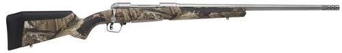 "Savage 10/110 Bear Hunter 375 Ruger 23"" Barrel, Stainless Steel,, , AccuFit Mossy Oak Break-Up Stock,  2 rd"