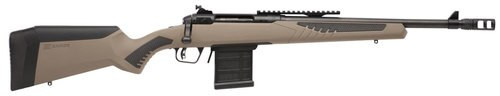 "Savage 10/110 Scout 450 Bushmaster, 16.5"" Barrel,, , AccuFit Flat Dark Earth Stock,  10 rd"