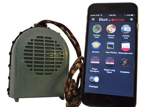 iHunt XBS Game Call Bluetooth Speaker, Green, 40 Yard Range