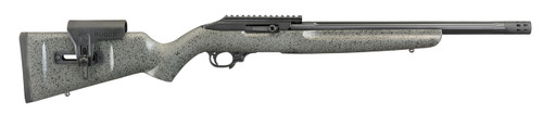 "Ruger Custom Shop 10/22 Competition, .22 LR, 16"" Fluted Barrel, Brake, Speckled Gray Stock, 10rd Mag"