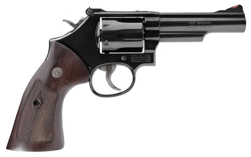 "Smith & Wesson 19 Classic 357 Mag, 4.25"", Walnut Grip, Blued, 6rd"