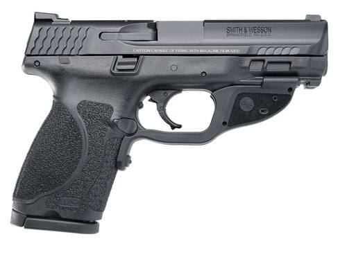 """Smith & Wesson M&P M2.0 Compact 40SW, 4"""", NTS Crimson Trace Green, 13rd"""