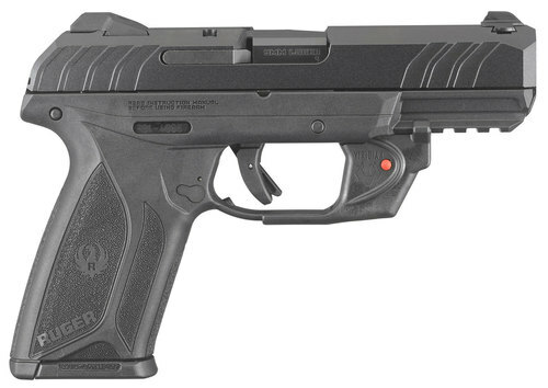 "Ruger Security-9 9mm, 4"", Viridian Red Laser, Blued, 15rd"