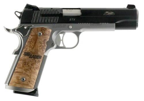 Sig 1911 STX 45 ACP, 8rd, Mass Legal