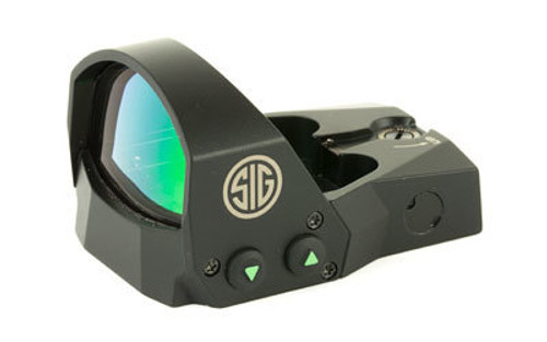 Sig Romeo1 Reflex Sight, 1X30mm, 6 MOA RED Dot, 1.0 MOA Adj, Black