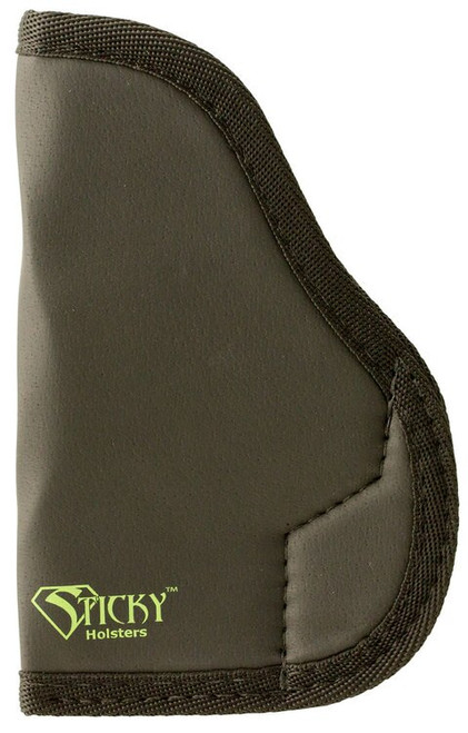 "Sticky Holsters MD-3 PPK Holster, 3.4""-4"" Barrel, Ambi, Latex Free, Black W/ Green Logo"