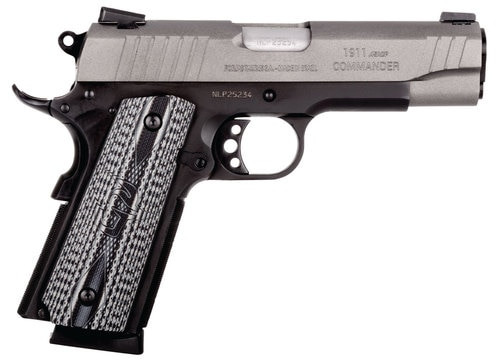 "Taurus 1911 Commander 45 ACP 4.2"" Barrel Gray VZ Grip Gray Cerakote Slide 8rd MAg"