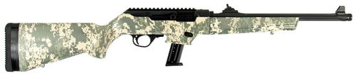 Ruger PC Carbine, 9mm, 17rd, Digital Camo Stock