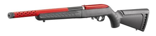"""Ruger 10/22 Take Down Lite 22LR Red Sleeve 16"""" Threaded Barrel"""