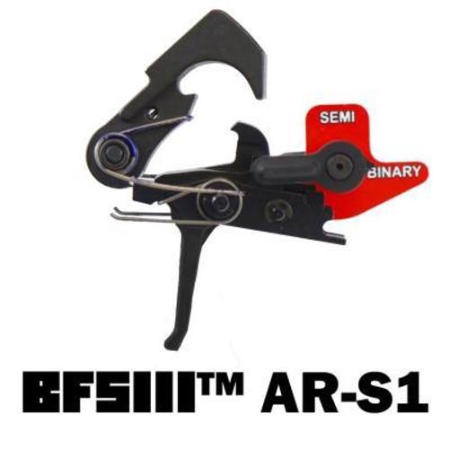 Franklin Armory Gen3 Straight Trigger Binary Firing System, Metal, Black