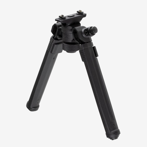 "Magpul Bipod for M-LOK, Black 6061 T-6 Aluminum, Fits M-LOK Style rails, 6.3"" -10.3"" Length"