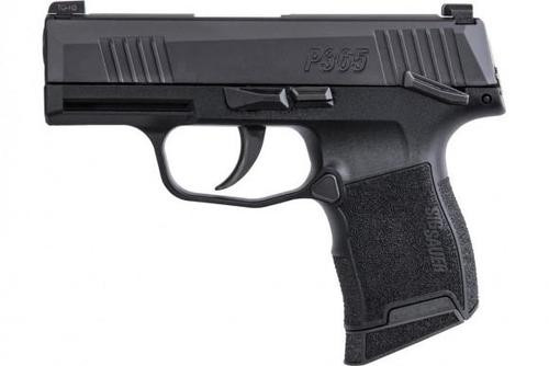 "Sig P365 Micro Compact 9mm, 3.1"" Barrel, Manual Safety, X-Ray Night Sights, 10rd"