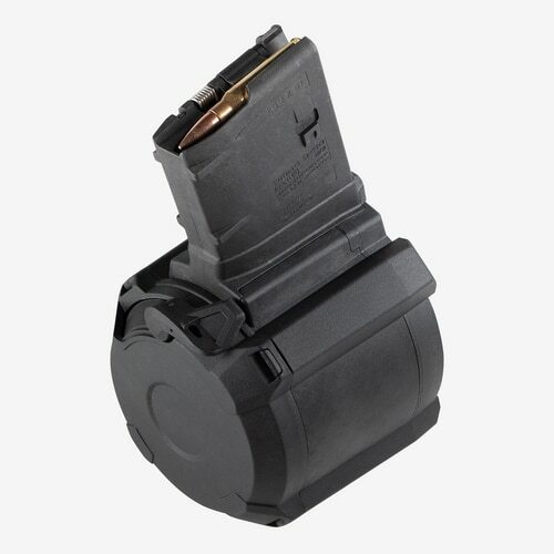 MagPul PMAG D-50 LR/SR Drum 7.62x51mm/308 Win, Gen M3, 50rd Drum