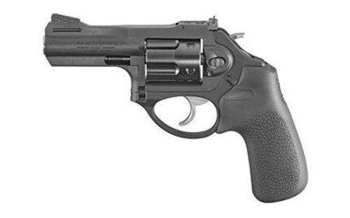 "Ruger LCRx Revolver Single/Double 357 Magnum 3"" 5 Rd Black Hogue Tamer Monogrip Black Matte"