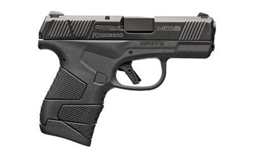 "Mossberg MC1SC Sub-Compact 9MM, 3.4"" Barrel, Polymer Frame, 3-Dot Sight, No Manual Safety, 1-6Rd & 1-7Rd Mag"
